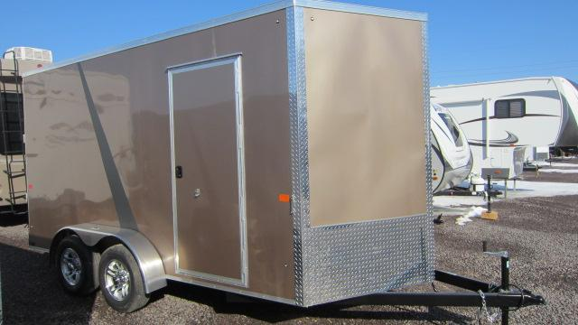 2018 AERO 7X14 V Tall Enclosed Cargo Trailer