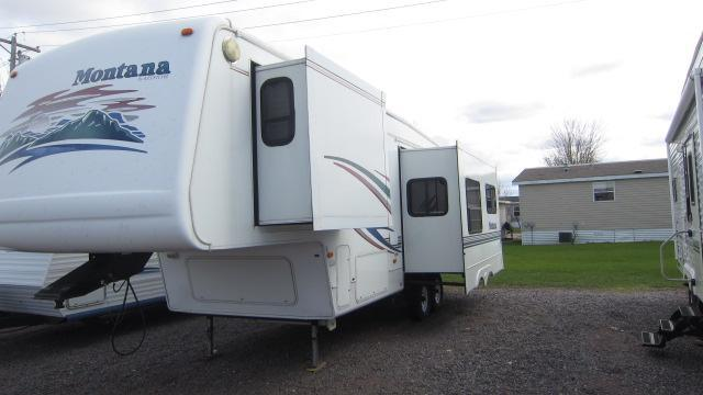 2001 Keystone Montana 2955RL Fifth Wheel Campers