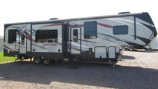 2016 Keystone RAPTOR 355TS Fifth Wheel Toy Hauler