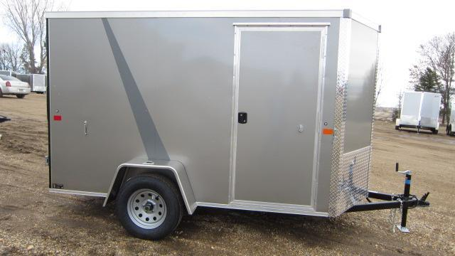 2019 AERO 5x10 V Enclosed Cargo Trailer