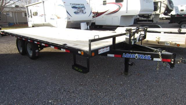 2018 Load Trail 102x20 Deck Over Flatbed Trailer