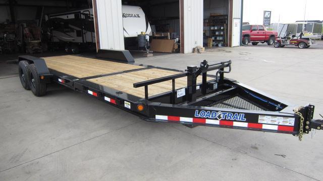 "2018 Load Trail 83"" X 22' Tilt-n-go Tandem Axle Flatbed Trailer"