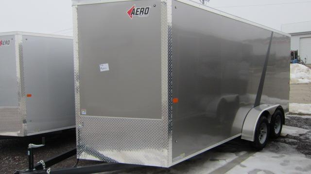 2018 AERO 7X16 V Enclosed Cargo Trailer