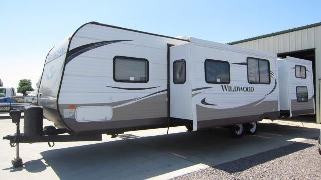 2014 Wildwood 31QBTS Travel Trailer