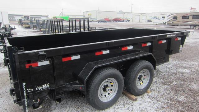 2019 Lamar Trailers 83X14 Low Pro 14K Dump Trailer