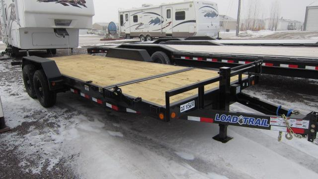 2018 Load Trail 81.5X20 Tandem Gravity Tilt Deck Flatbed Trailer