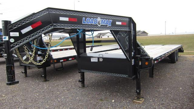 2017 Load Trail 102X30 Tandem Heavy Duty Gooseneck Flatbed Trailer
