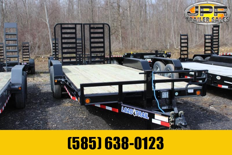 2019 Load Trail 7x20 Equipment Trailer with Tractor Gate