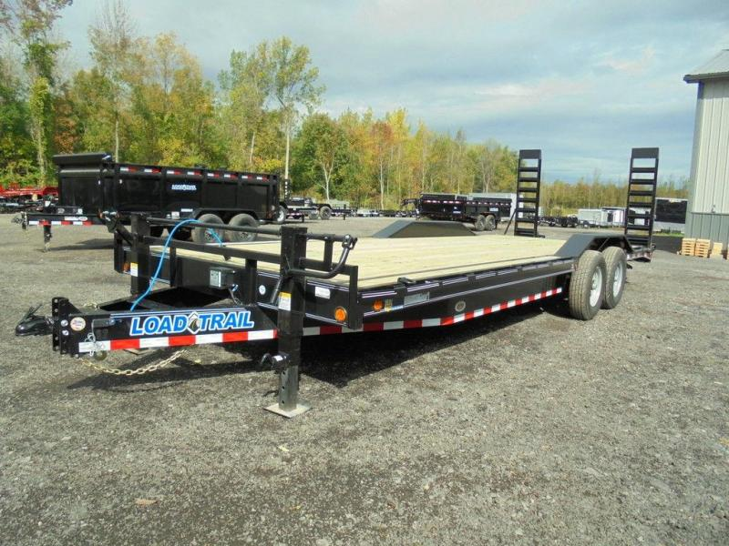 2019 Load Trail 24' 14K Wide Body Drive-Over Fender Equipment Trailer