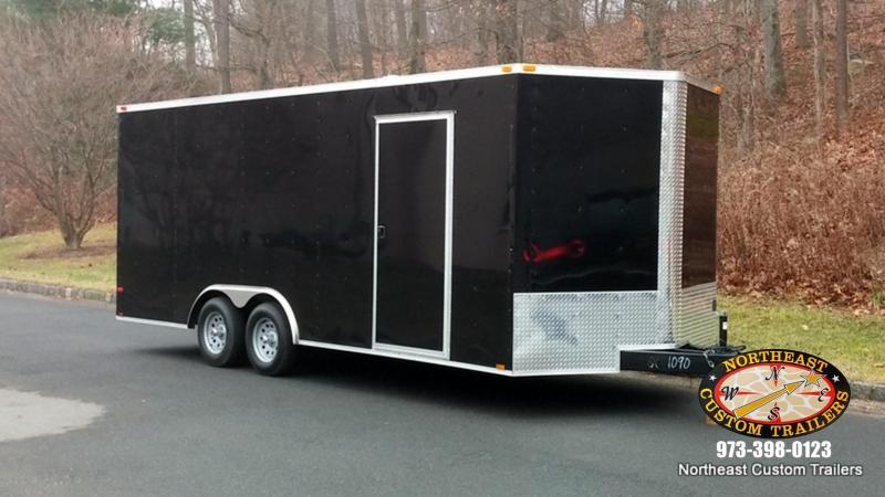 8.5 X 16 TA Enclosed Cargo Trailer