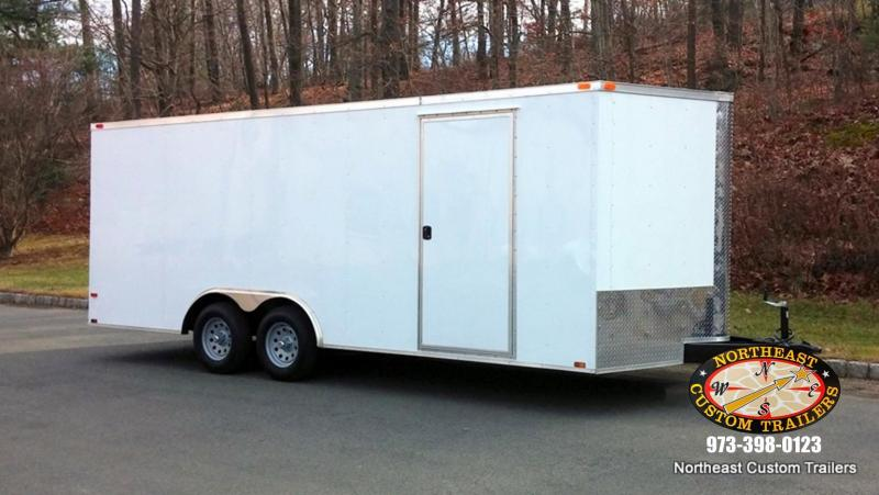 8.5 X 24 TA Enclosed Cargo Trailer