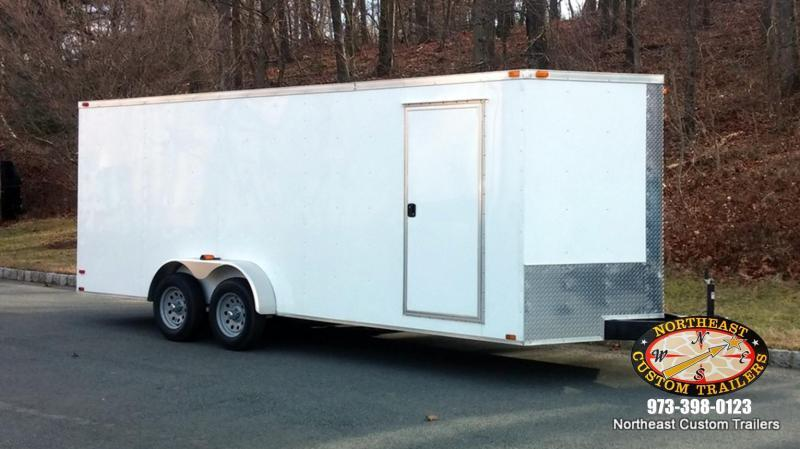 7 X 18 Enclosed Cargo Trailer