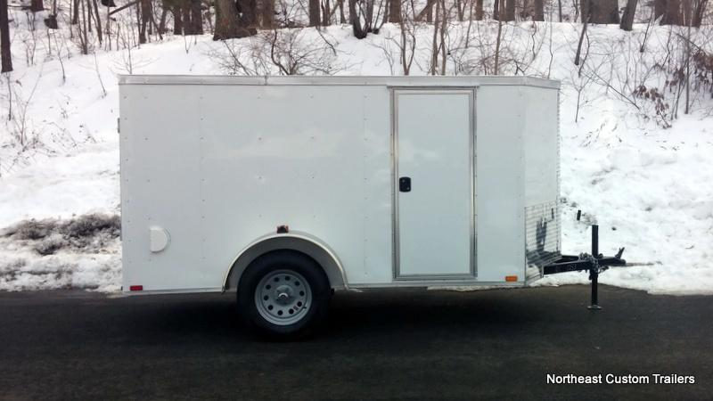 5 X 10 Enclosed Cargo Trailer