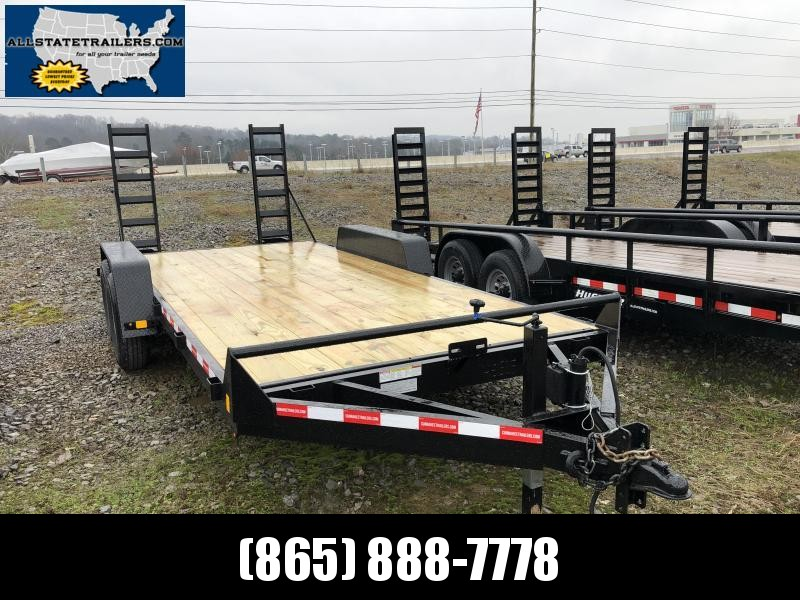 2019  (7 X 18) 12000# GVWR Currahee E718.12KD Equipment Trailer