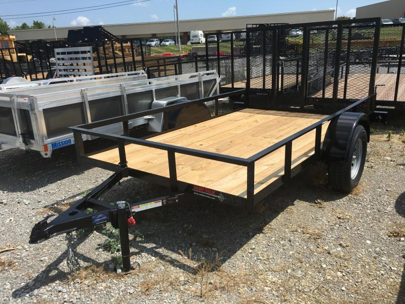 2017 Caliber Trailer Mfg EAGH610 Utility Trailer - 6 x 10