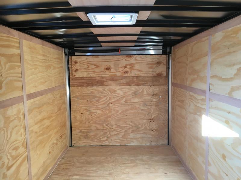2017 Look Trailers EWLC7X14TE2  (7 X 14) Element Ramp Door V-Nose Cargo / Enclosed Trailer