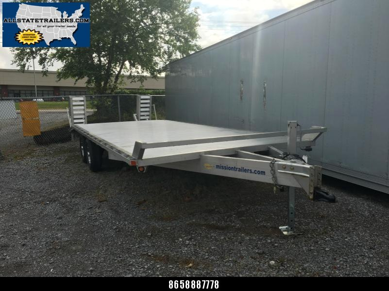 2015 Mission 8.6 x 22 MDO101X22-A All Aluminum Equipment Trailer