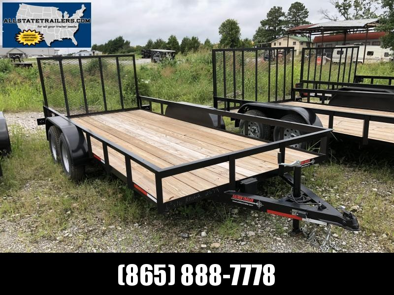 2018 Caliber Trailer Mfg EAGH6516 Utility Trailer (6.5 x 16)