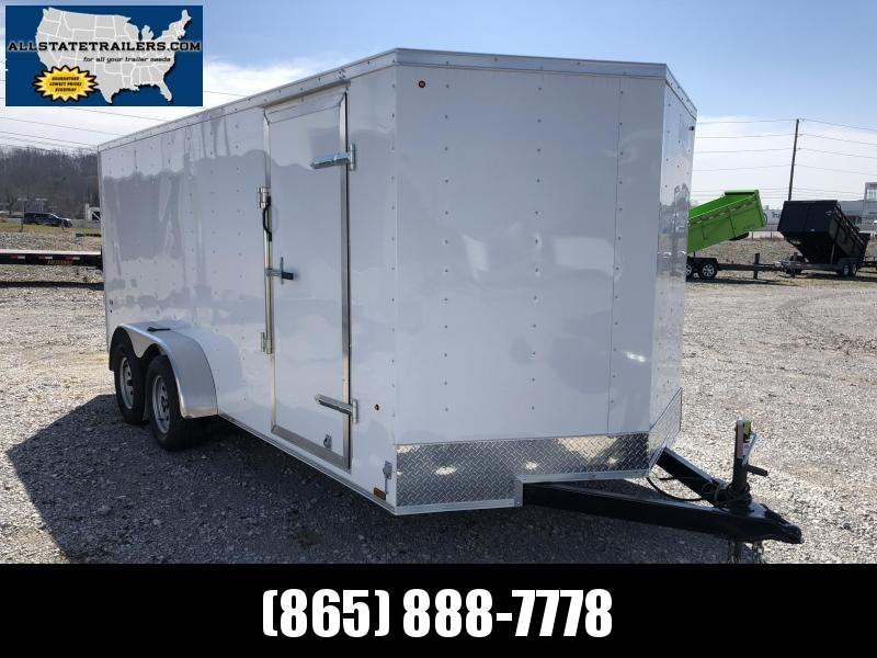 2019 Look Trailers STLC7X16TE2  (7 X 16)  Ramp Door V-Nose Cargo / Enclosed Trailer