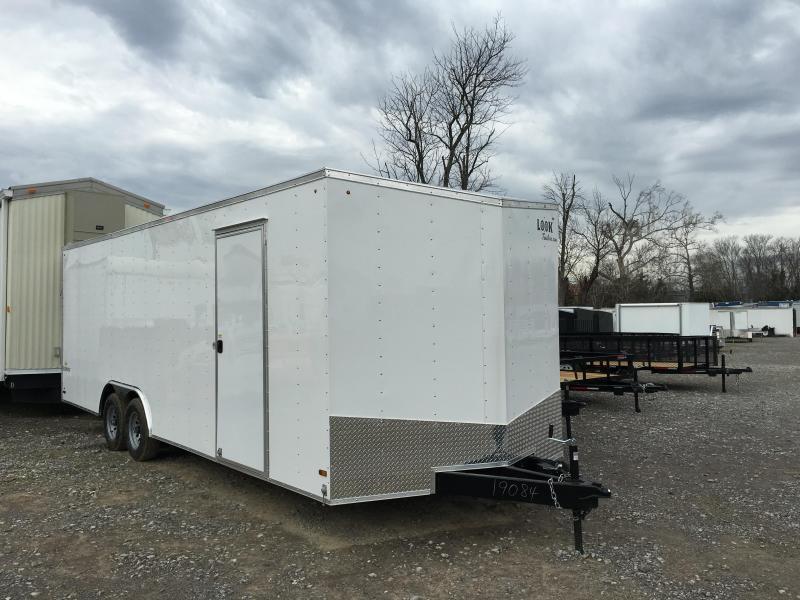 2016 Look Element 8 X 24  #10000 GVWR Enclosed Cargo Trailer
