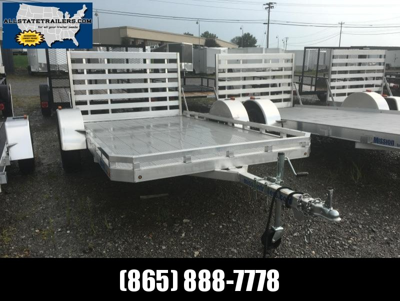 2016 Mission MU80X14 DL-A Utility Trailer