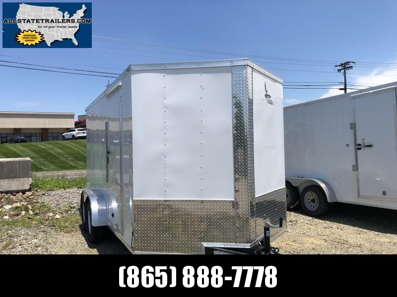 2019 Lark (7 x 14) 7000#GVWR Ramp Door VT714TA Enclosed Cargo Trailer