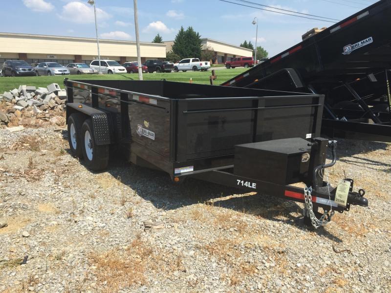 2016 Bri-Mar DT714LP-LE-14 ( 7 x 14) 14000# GVWR Dump Trailer
