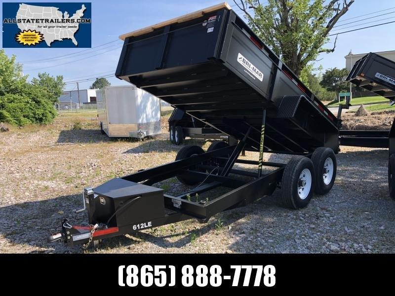 2019 Bri-Mar DT612LP-LE-12 Dump Trailer 6 x 12 Dump Trailer