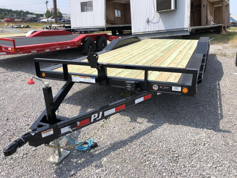 2020 PJ Trailers (7 x 18) 7000# GVWR Channel Buggy Hauler Trailer