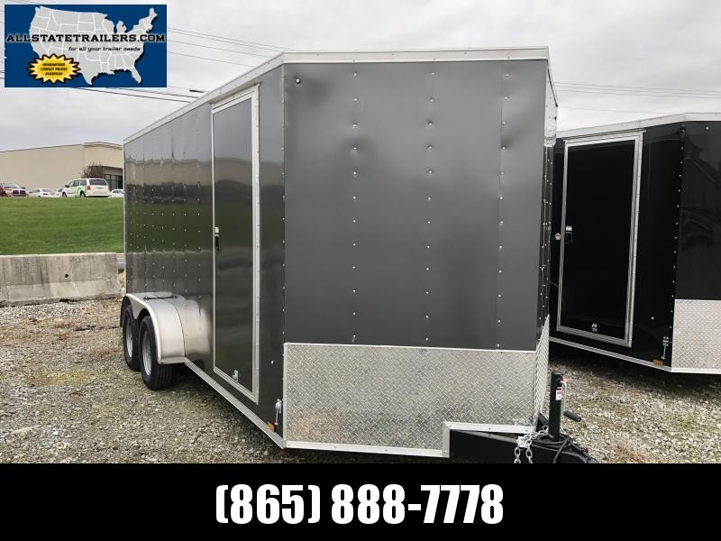 2019 Pace American JV7X16TE2 (7 x 16) Enclosed Cargo Trailer