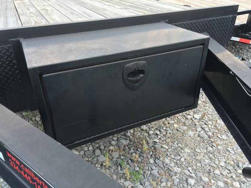 Special Reduced Price - 2015 Caliber Trailer Mfg DL820 Equipment Trailers