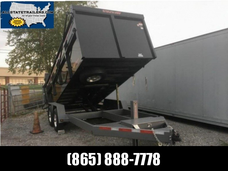 2018 B-Wise DU16-15 Ultimate Dump Trailer 7 x 16