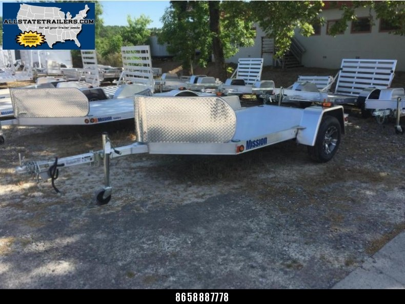 Special Reduced Price - 2016 Mission 5 X 8 All ALuminum Motorcycle Trailer