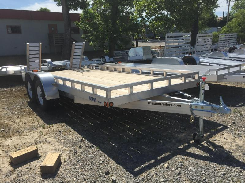2015 Mission MPAT6.5X16 Equipment Trailers
