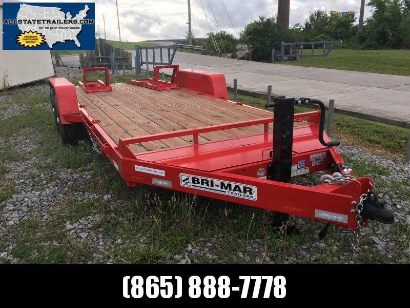 2017 Bri-Mar EH818-14HD Equipment Trailer 7 x 18