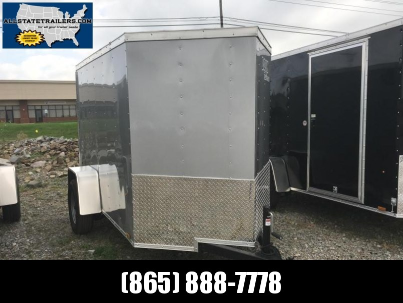 2018 (5 X 8) Enclosed Trailer Rear Ramp Door
