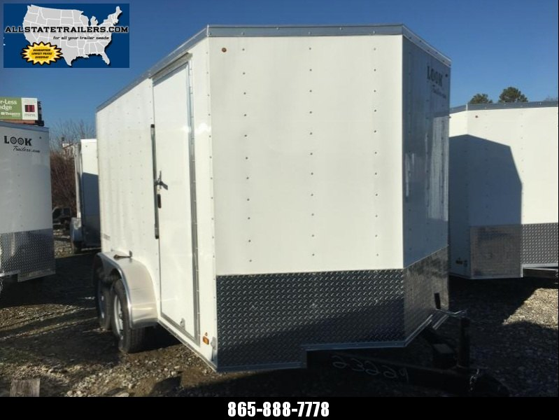 2017 Look Trailers (7 x 12) EWLC7X12TE2 Rear Ramp Door Cargo / Enclosed Trailer