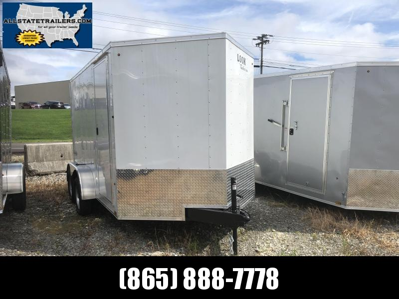 2019 Look Trailers (7 x 12) EWLC7X12TE2 Rear Ramp Door Cargo / Enclosed Trailer