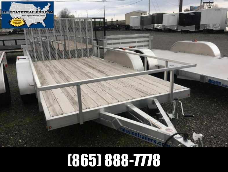 2016 Mission (6.5 x 14)  MLS 6.5x14-A Utility Trailer