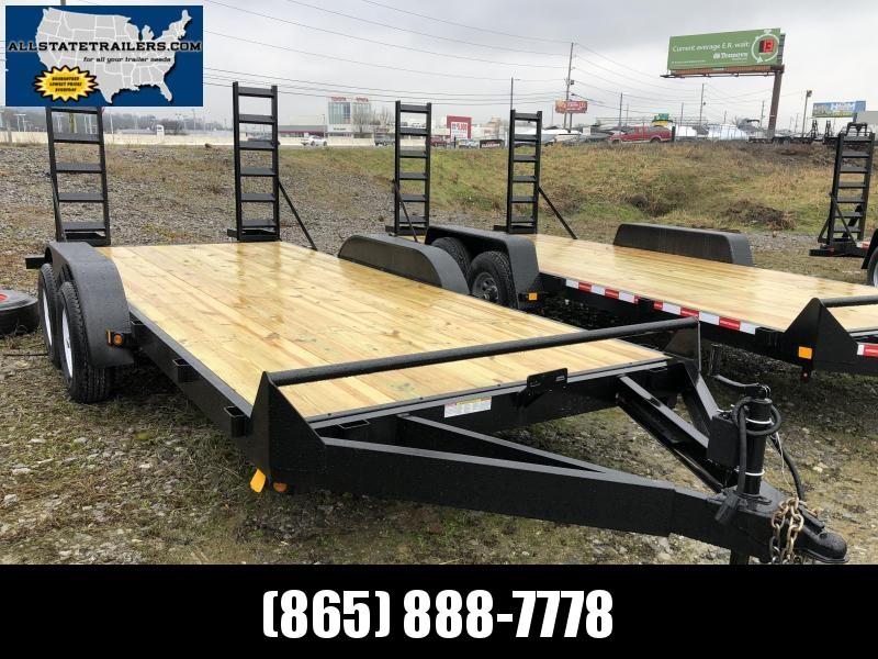 2019  (7 X 16) 100000# GVWR Currahee E716.10K Equipment Trailer