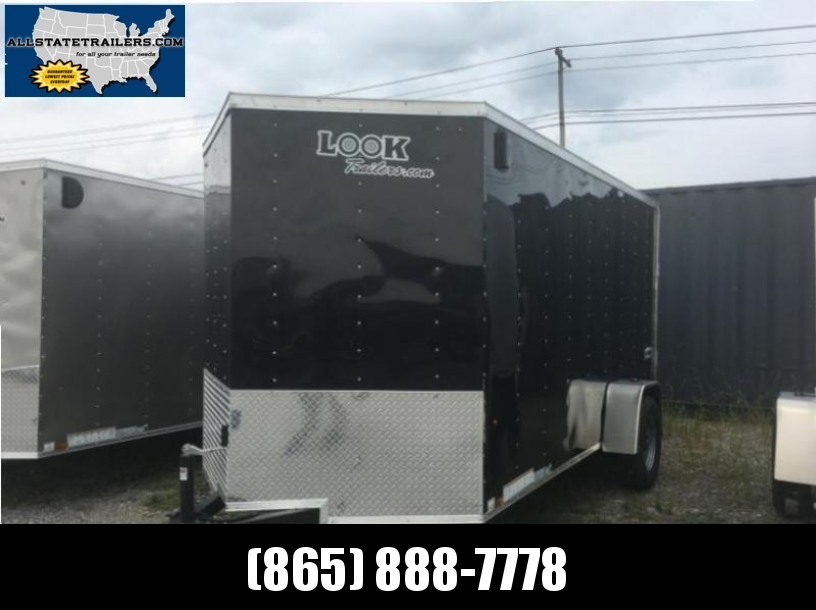 2018 Look Element 6 x 10 Cargo / Enclosed Trailer