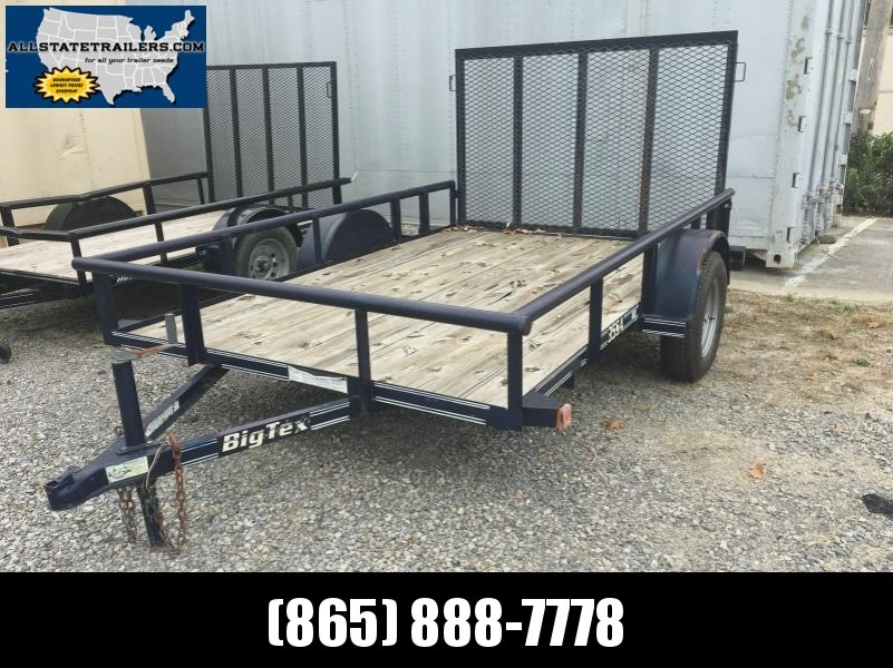 2007 Big Tex Trailers 35SA-10 Utility Trailer