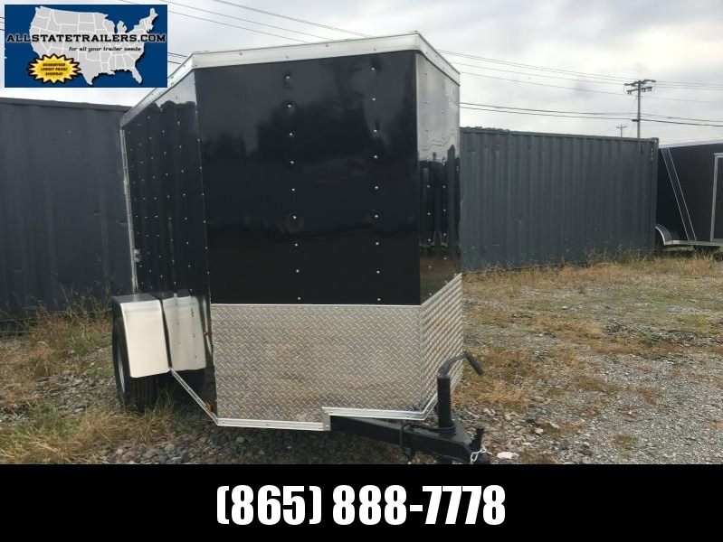 2018 (5 X 8) Enclosed Trailer Rear Ramp Door