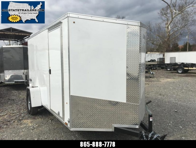 2017 (6 x 12) Look Trailers EWLC6X12SI2 Flat Top Cargo / Enclosed Trailer