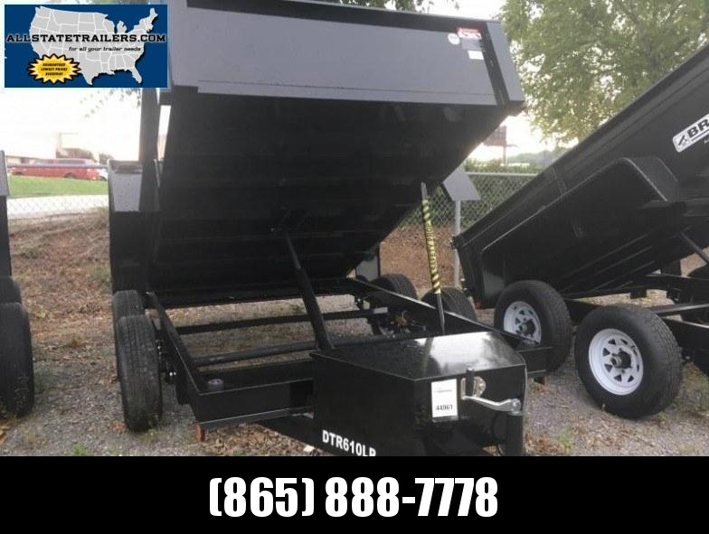 2018 Bri-Mar DTR610LP-10 (6 x 10)  Dump Trailer