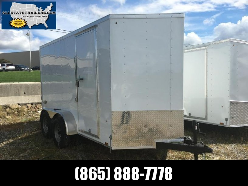 2018 Look Trailers (6 x 12 Tandem) EWLC6X12TE2 Flat Top Cargo / Enclosed Trailer
