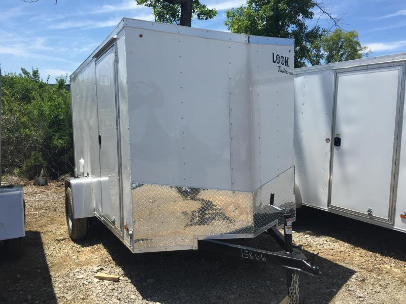 2015 Look Trailers EWLC6X10SI2 Flat Top Cargo / Enclosed Trailer