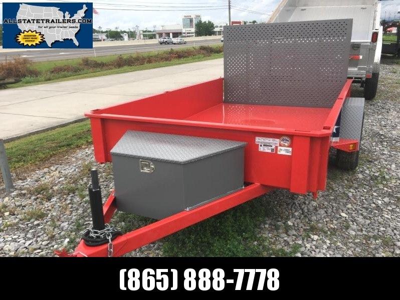Special Price - 2016 Bri-Mar USS610-3 Utility Trailer 6 x 10