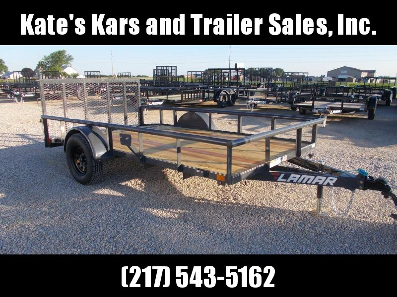 2019 Lamar Trailers 77X12 Single Axle Utility Trailer