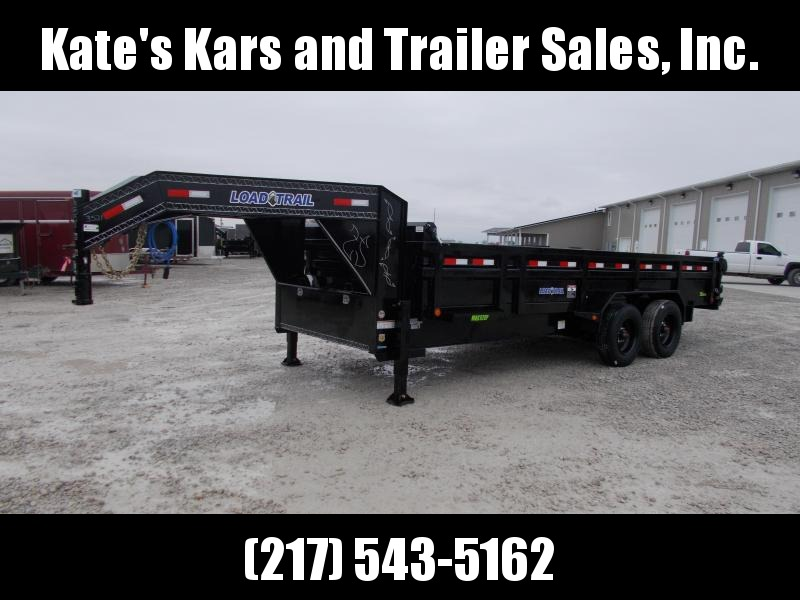 2020 Load Trail 83X20' Gooseneck 24K Dump Trailer